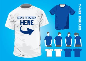 T Shirt plantillas de diseño