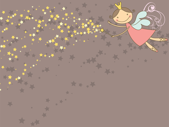 Fairy illustration wallpaper