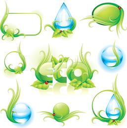 Vetor de tema ambiental 02