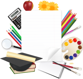 Learn Stationery 05 Vector