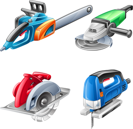 Hardware Power Tool Vector
