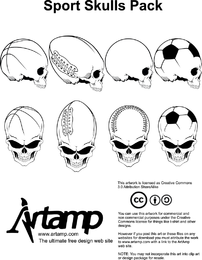 Movement Elements Skull Skull