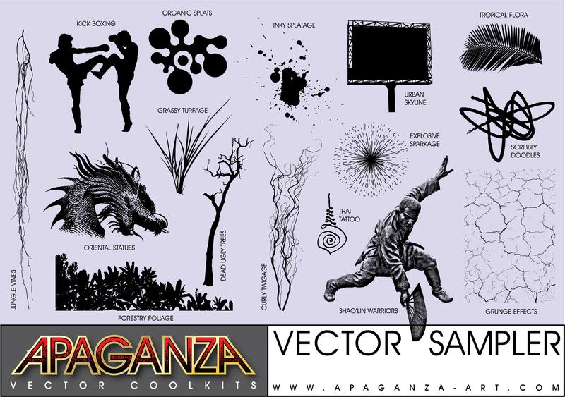 Apaganza Vector Coolkit Sampler