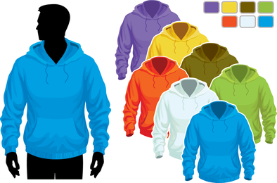 Sweater Template 02 Vector
