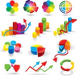 Datos tridimensionales del vector del mapa del color