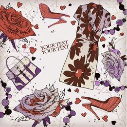 Zapatos Fashion Illustrator 02 Vector