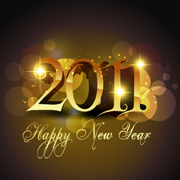 Shiny 2011 greeting template