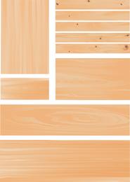 Vetor de grão de madeira 2