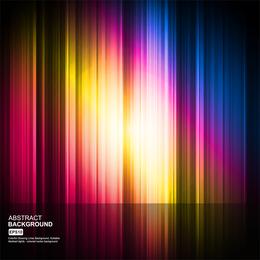 Colorido atraente brilho dinâmico 02 Vector