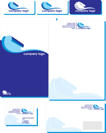 Basic Enterprise Vi Template Vector
