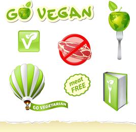 Vetor logotipo verde