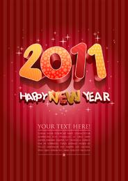 Dreidimensionaler Wort-Vektor 2011 nett