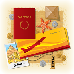 Travel Theme Vector 2
