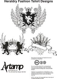 Heraldik-Mode-T-Shirt-Designs