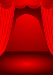 Teatro escenario vector de tema