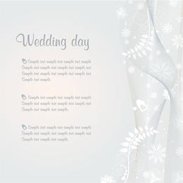 Hochzeits-Schablonen-Vektor
