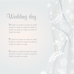 Wedding Template Vector