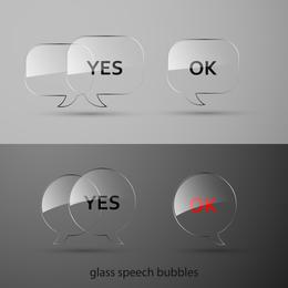 Textura de botões de vidro de vetor