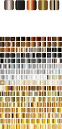 Vetor de estilo de vetor de gradiente quadrado