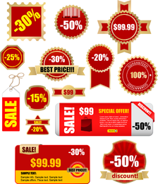 Discount Sales Vector 2