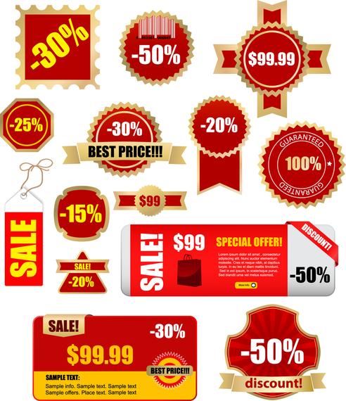 Discount Sales Vector 2