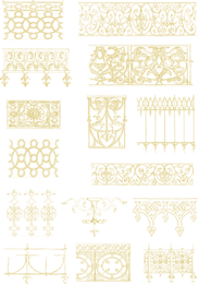 Europeanstyle Lace Vector 3