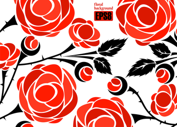 Roses Vector 3 2