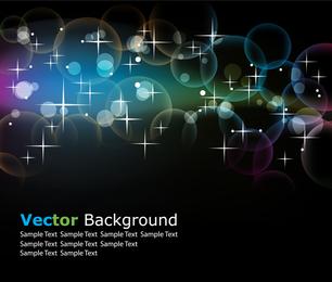 Brilla la luz y la línea 01 Vector
