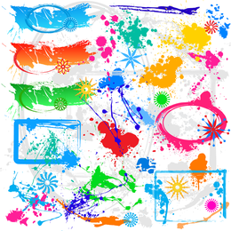 Colorful Ink Vector 3