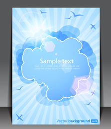 Weather Effects Card 02 Vector