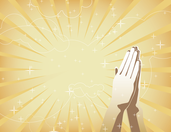 Vector Hands Together