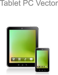 Tablet-PC-Vektor