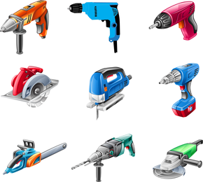 Electric Tools Vector Pack
