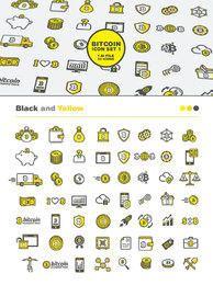 56 Bitcoin Icon Set