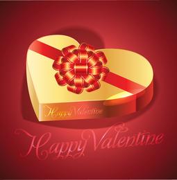 Valentines chocolate box