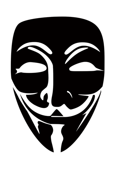 V For Vendetta Mask Stencil Vendetta Mask V...