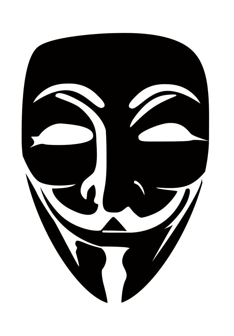 Vendetta Mask Vector - Vector download
