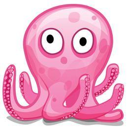Vector libre Octopod