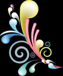 Swirl Maina Vector for Adobe illustrator.