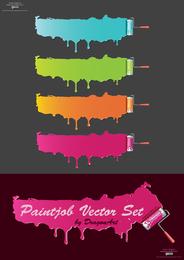 Vector de pintura