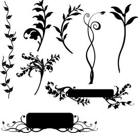 Libres del vector del diseño floral