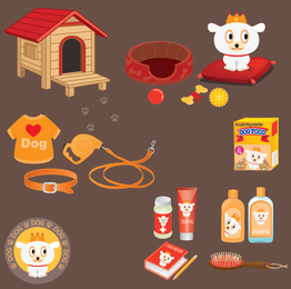 Dog care branding products