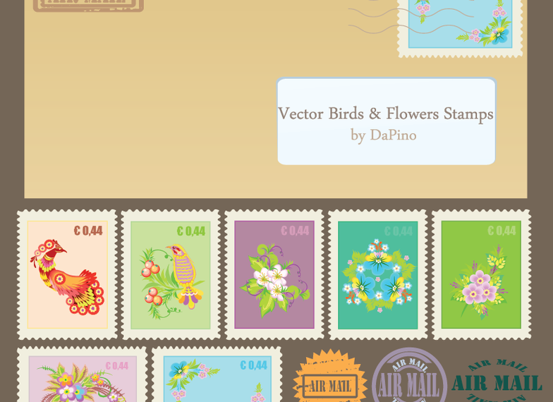 Vector Stamps images - Download