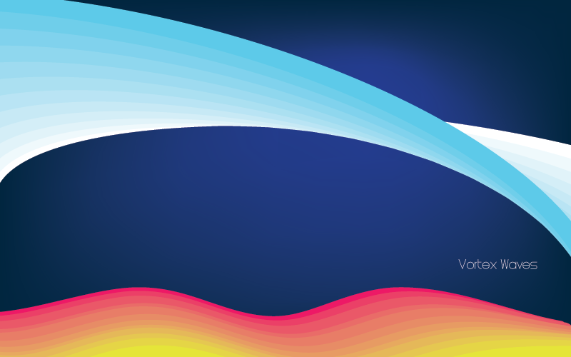 Vortex Waves Vectors Download - Vector download