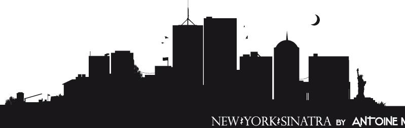 New York Sinatra Vector