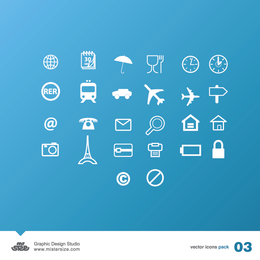 A travel & business vector pack - Download Page