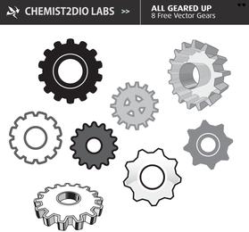 Free Vector Gears - Página de descarga