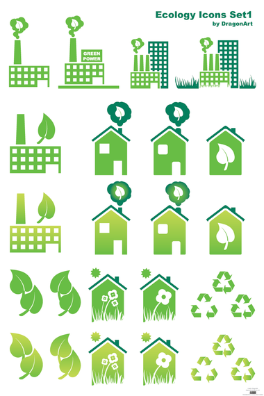 Ecology Icons set 1 - Download Page