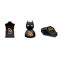 3 Vector Halloween RSS Icons
