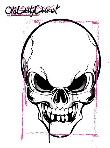 Vector Skull Design - Download Page